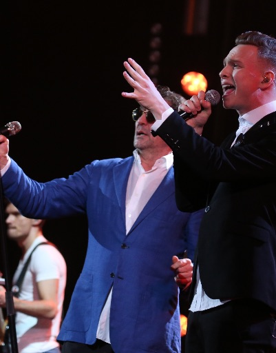 Григорий Лепс и Даниил Буранов