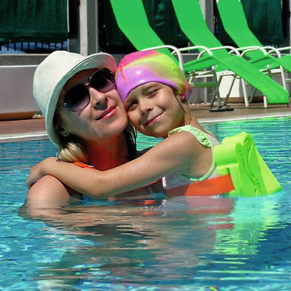 На отдыхе с мамой Еленой в Словении, 2015 год