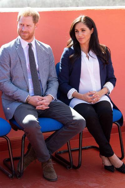 Принц Гарри и Меган Маркл с нетерпением ждут рождения первенца