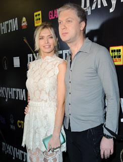Вера Брежнева и Сергей Светлаков на премьере фильма «Джунгли»