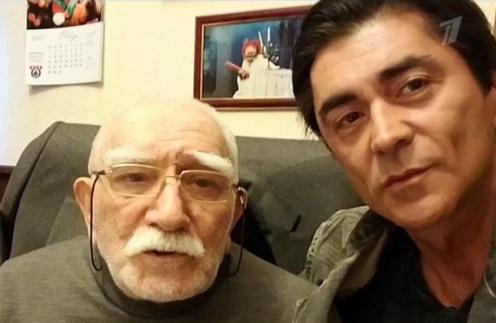 Армен Джигарханян с сыном Степаном