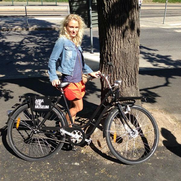 Без велосипеда в Стокгольме никуда