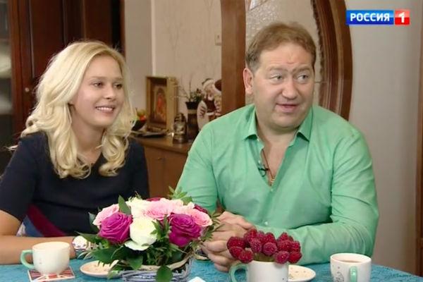 Александр Демидов с женой Маргаритой
