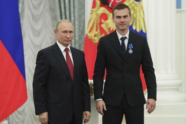 Спортсмены были невероятно горды тем, что встретились с президентом и получили награды