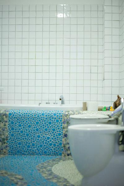 В доме достаточно ванных комнат для всех будущих жильцов дома