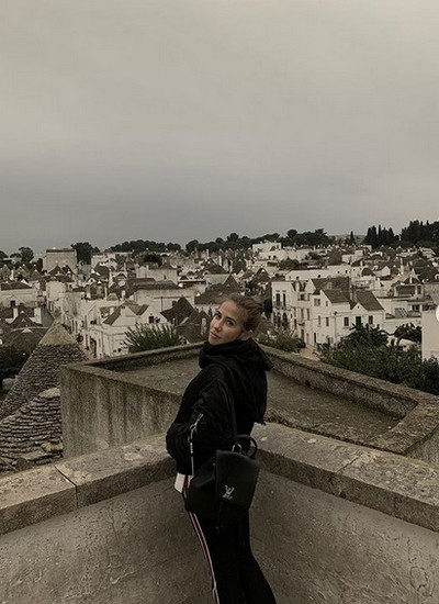 Юлия Барановская в Италии