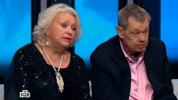 Николай Караченцов и Людмила Поргина состоят в браке с 1975 года