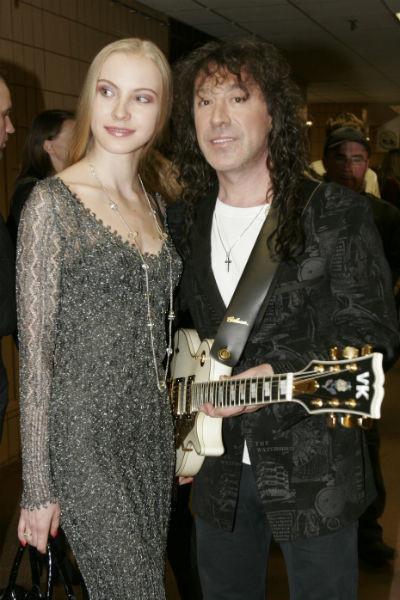 Владимир Кузьмин с бывшей женой Екатериной