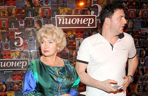 Людмила Нарусова и Максим Виторган