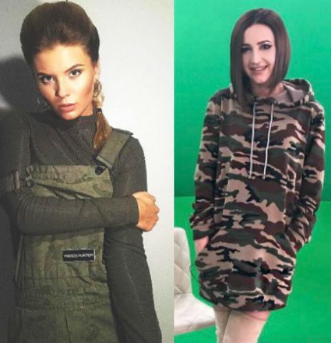 Анна Шульгина и Ольга Бузова
