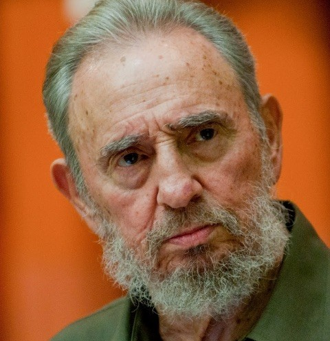 Легендарный команданте Фидель Кастро