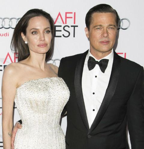 Брэд Питт и Анджелина Джоли борются за счастливое будущее ... анджелина джоли и брэд питт