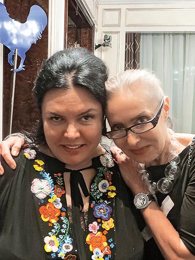 Марина Лебедева и Ольга Свиблова