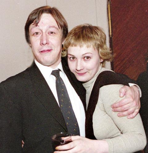 Михаил Ефремов и Ксения Качалина