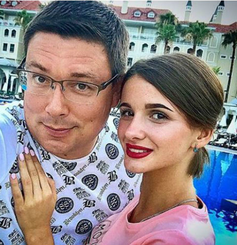 Андрей Чуев и Виктория Морозова