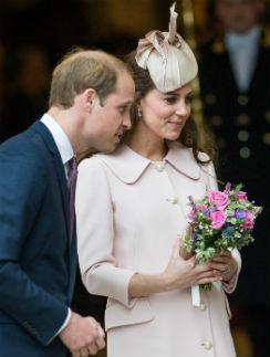 Принц Уильям и герцогиня Кэтрин