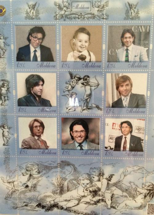 «Почта Молдавии» сделала мне подарок – именные марки