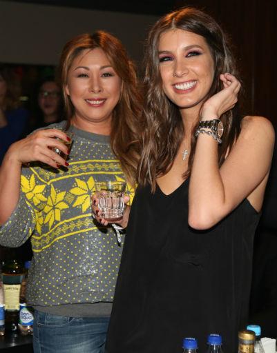 Анита Цой и Кети Топурия