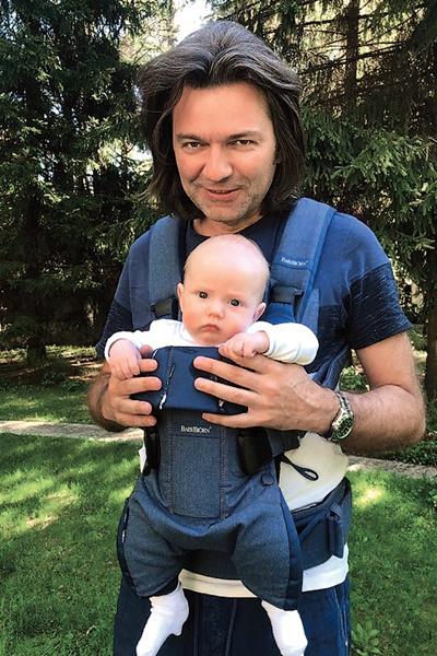 В январе Маликов отметит первый годик сына Марка