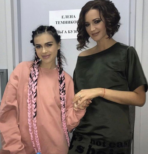 Елена Темникова и Ольга Бузова
