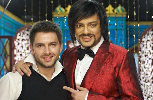 Денис Лесницкий с Филиппом Киркоровым