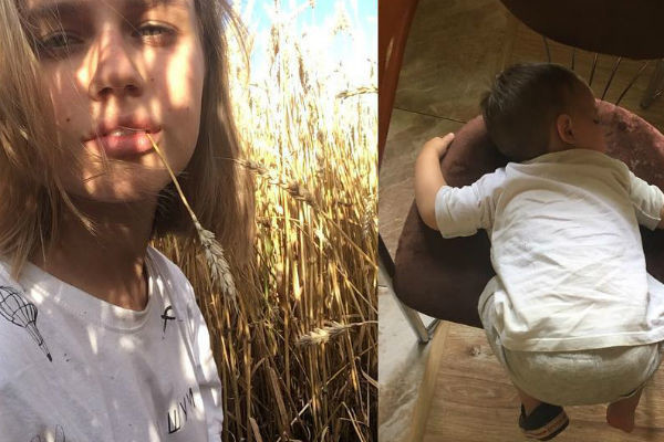 Дарья редко публикует фото своего сына