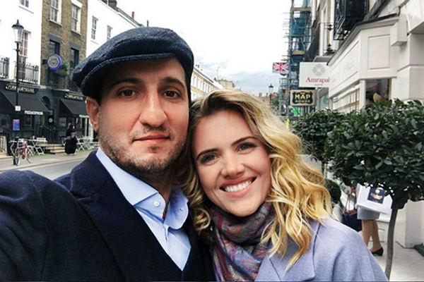 Арарат Кещян с женой Екатериной