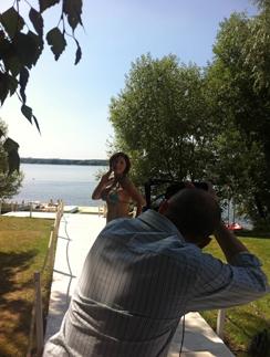 Роза Сябитова позирует нашему фотографу Артуру Тагирову