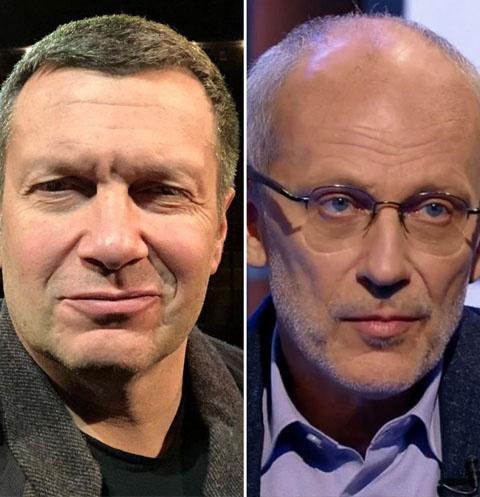 Владимир Соловьев и Александр Гордон