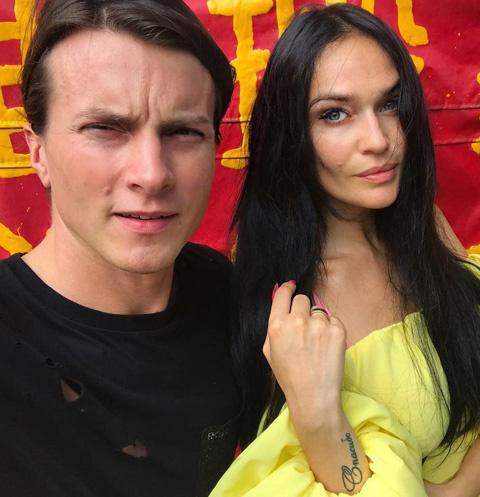 Алексей Комов и Алена Водонаева