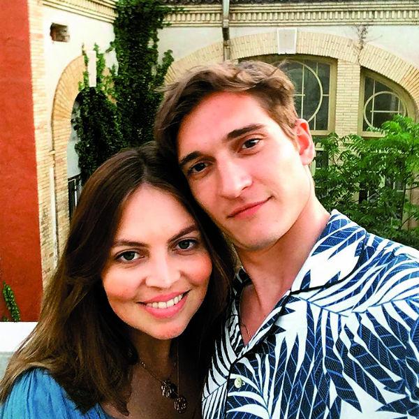 Матвей Лыков со своей женой Джессикой