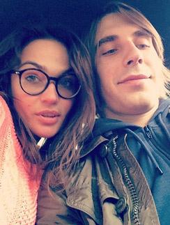Алена с возлюбленным Юрием Анде