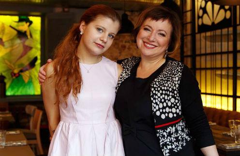 Мария Парфенова с мамой Еленой Чекаловой