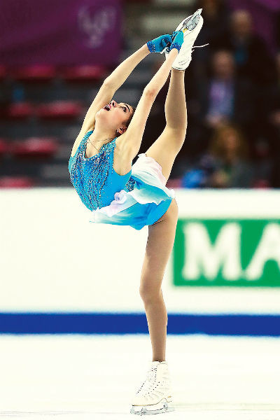 Медведева – главная надежда женского фигурного катания