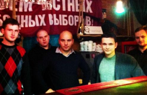 Илья Яшин (второй справа)