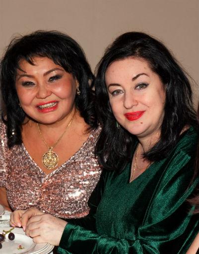 Клара Кузденбаева и Тамара Гвердцители