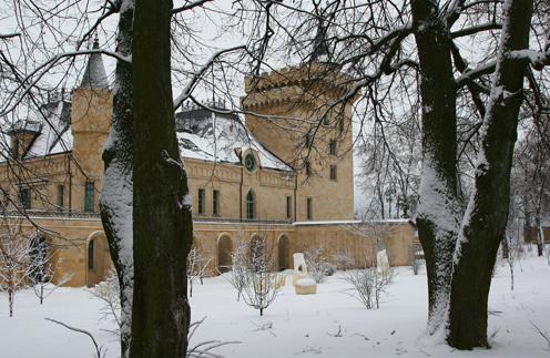 Архитекторы и дизайнеры работали над созданием замка Галкина долгих семь лет