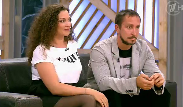 Данко и его жена Наталья Устюменко