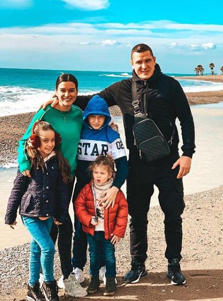 Несколько дней назад Бородина с семьей посетила Анталью
