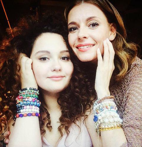 Любовь Толкалина с дочерью