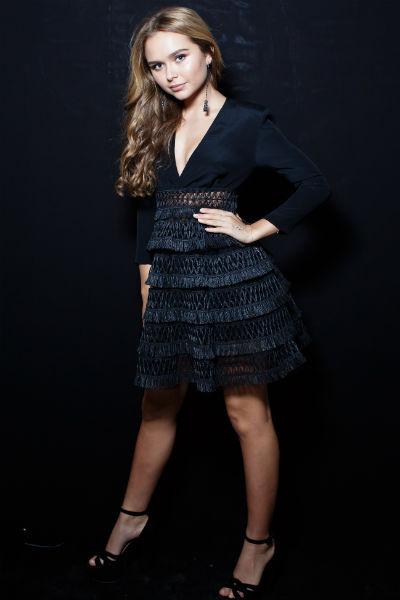 Стеша Маликова на вечеринке после Бала дебютанток
