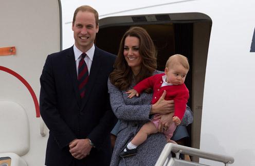 Уильям и Кейт с малышом Георгом в Австралии