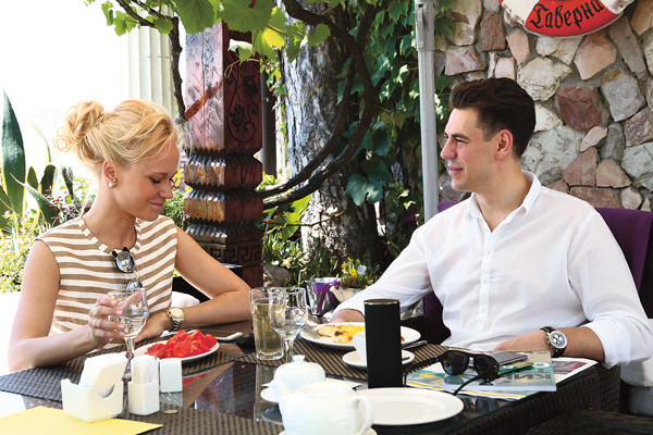 Дмитрий и Татьяна Дюжевы