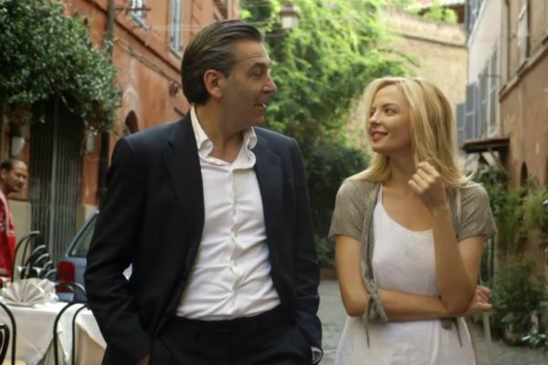 Марина Орлова и Родольфо Корсато в картине «Здравствуйте! Я продюсер Вуди Аллена»