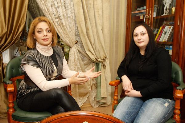 София с психологом Анеттой Орловой
