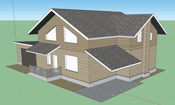 Построить такой дом, по минимальным подсчетам, стоит около 4 млн рублей