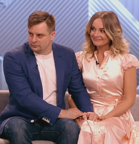 Александр Носик и Настя Крайнова