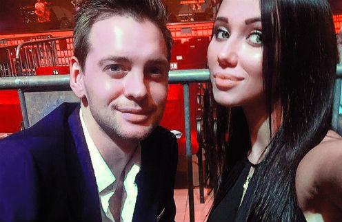 Александр Соколовский с девушкой Ульяной Грошевой