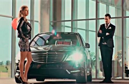 Кадр из нового клипа Анны Семенович