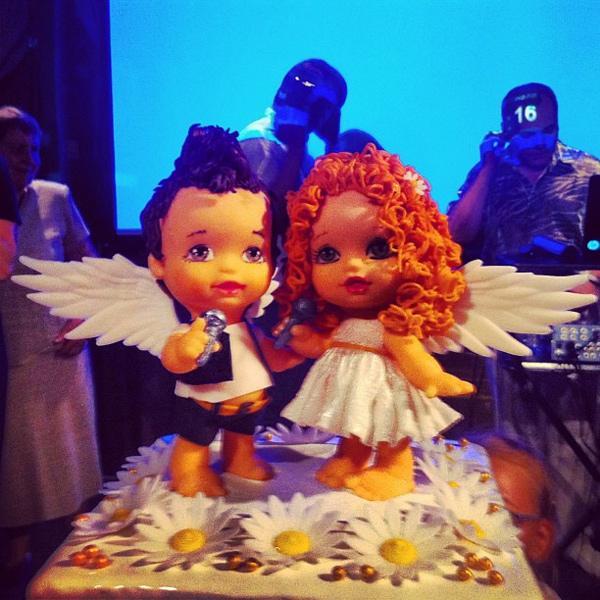 Ангелочки чем-то похожи на Лену и Сашо